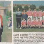 1999/2000 CADETE A