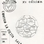 XV trofeo cartel