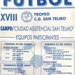 XVIII Trofeo cartel
