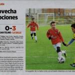 Benjamin A - La Salle (0-3) (11-2-17) (6) Norte de Castilla